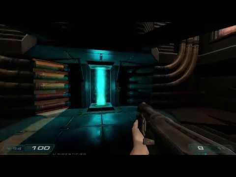 Doom E2M1 remake in Doom 3