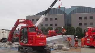 2013 東京國際消防防災展 救助演習1