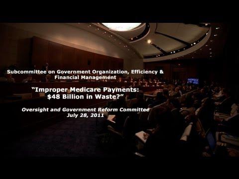"""""""Improper Medicare Payments: $48 Billion in Waste?"""""""