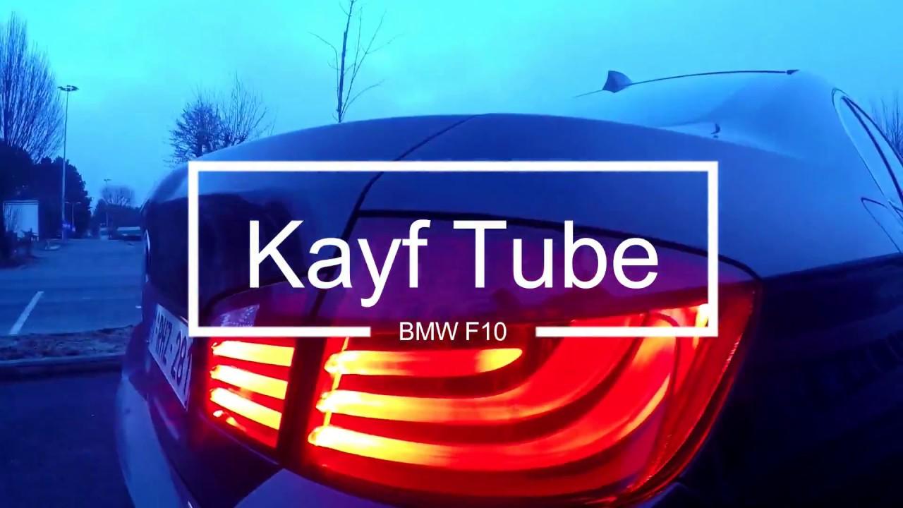 Обзор  Автомобиля  BMW Serie 5 F10 520D / Салон Алькантара