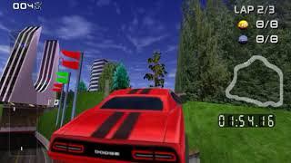 Dodge Challenger SRT over Bruiser - Rush 2049 Texture Mod (Gamecube)
