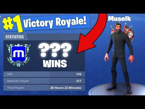 Muselks Stats *REVEALED* In Fortnite Battle Royale!