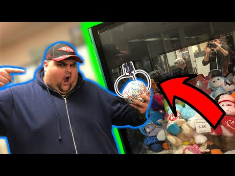 The STRONGEST Claw Machine EVER SEEN! I WON Almost EVERY Time!