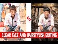 Clear Face And Straight Hair | How To Change Hairstyle And Face Colour By Photoshop 2017 HD