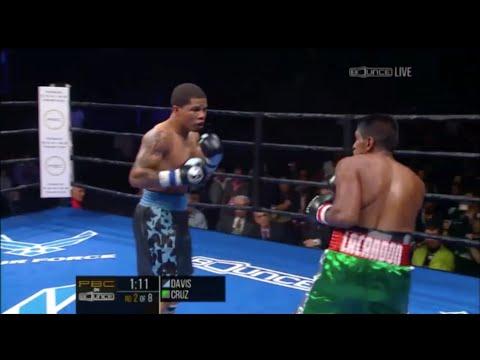 Gervonta  Tank  Davis Vs Cristobal Cruz Fight Highlights 10.30.15