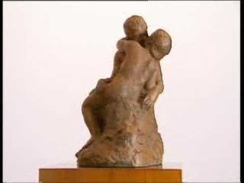 The Kiss (Oxidized Bronze) - Auguste Rodin