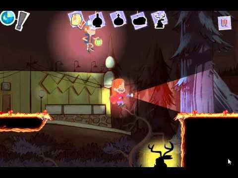 Gravity Falls Fright Night (Гравити Фолс бродилка: Ночь страха) - прохождение игры