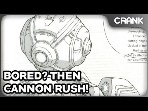 Bored? Then Cannon Rush! - Crank's StarCraft 2 Variety!