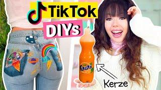 Virale DIY's von TIK TOK ausprobieren ✂️| ViktoriaSarina