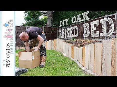 GIANT OAK RAISED BED - Complete Build