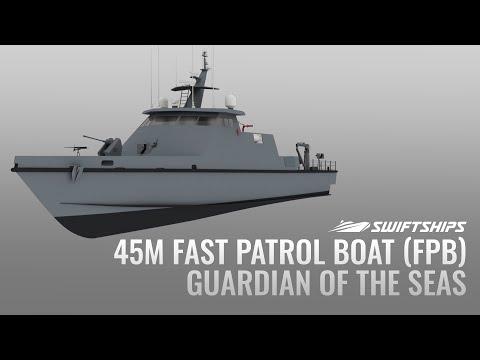 45M Fast Patrol Boat (FPB) -  Guardian of the Seas