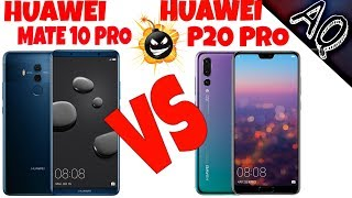Huawei P20 Pro vs Huawei Mate 10 Pro full comparison