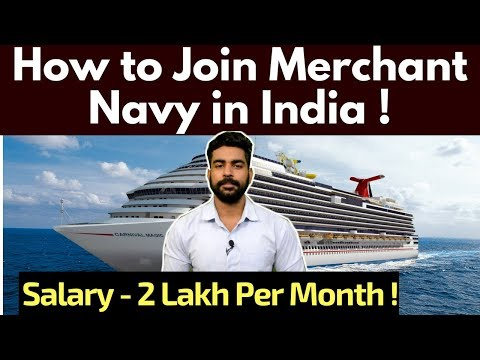 Merchant Navy Careers India | After 10th & 12th | Highest Paid Jobs ? | Salary | 2020