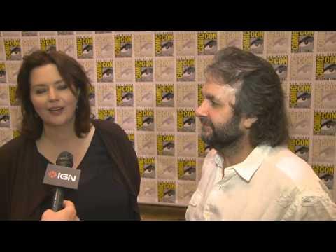The Hobbit: Peter Jackson and Philippa Boyens   ComicCon 2012
