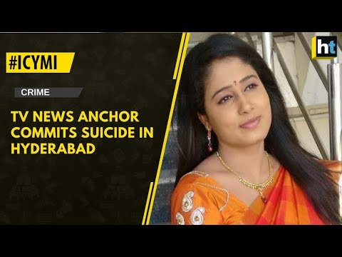 TV Anchor Commits Suicide In Hyderabad