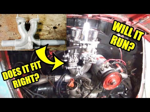 Intake Re-Install - Will It Fit? - High Performance 1776cc VW Engine