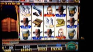 Slot Wild west un 100€ veloce