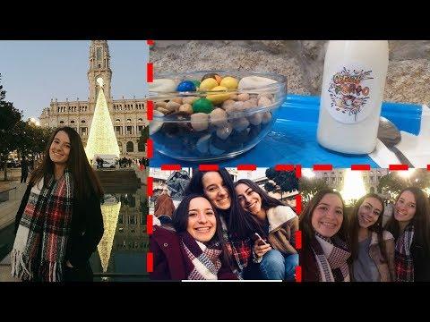 FUI AO PORTO! Cereal Porto Café + Árvore de Natal   VLOGMAS #18