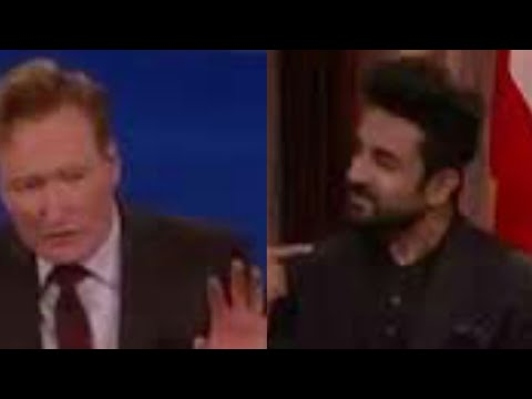 Vir Das's funny on Conan show reporting news around the World ! NEW Video!!