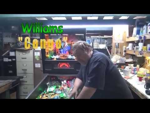 #644 Williams CONGO Pinball Machine with added LED Gorilla Eyes!  TNT Amusements