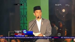 Presiden Jokowi Beserta Istri dan Cucu Ikut Rayakan Jelang Hari Santri di Solo   NET5