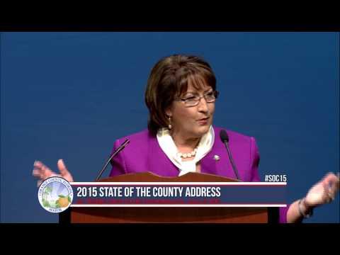 2015 State of the County Address - Orange County Mayor Teresa Jacobs