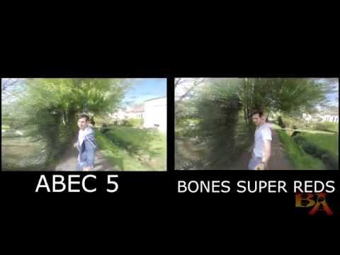 Longboard   Bones Super Reds SPIN TEST   Kugellager/ Bearings