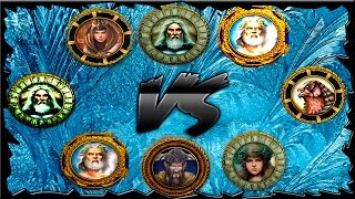 Age of Mythology Titans - 8 Players FFA Online Game #3 - Gameranger