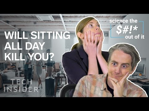 Is Sitting Not a good idea Even though you Exercise