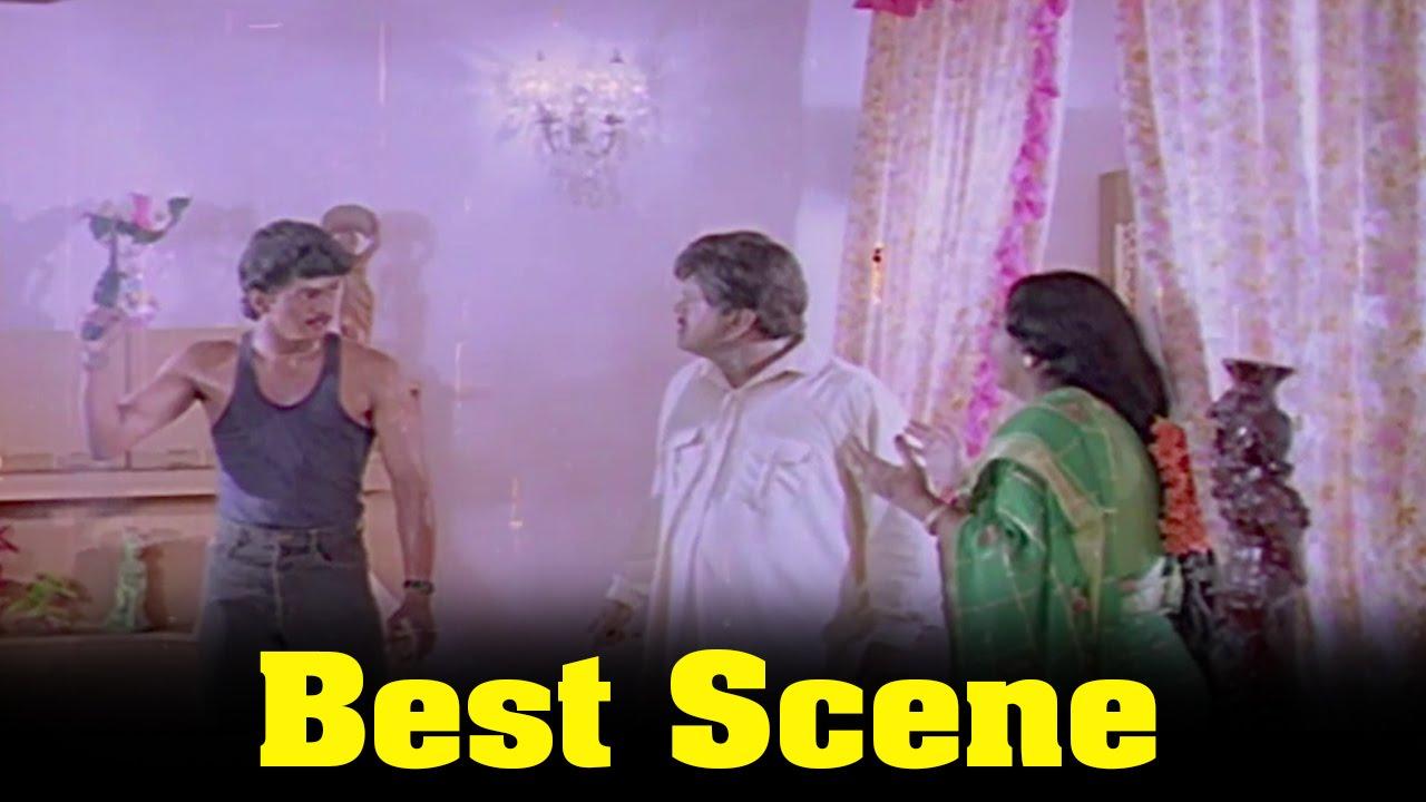 Naalaiya Theerpu Movie : Vijay Beat A Radharavi Best Scene ... Naalaiya Theerpu