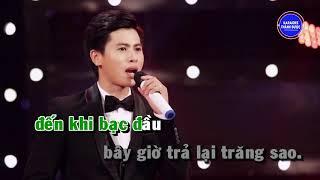Tình Yêu Trả Lại Trăng Sao - Karaoke Nguyễn Thành Viên - Beat Chuẩn