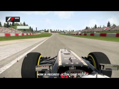 F1 2013 - Debut Gameplay Reveal - Hotlap Nurburgring