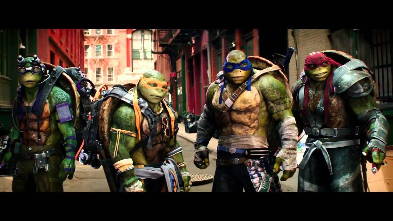 teenage mutant ninja turtles 2 tmnt official trailer. Black Bedroom Furniture Sets. Home Design Ideas