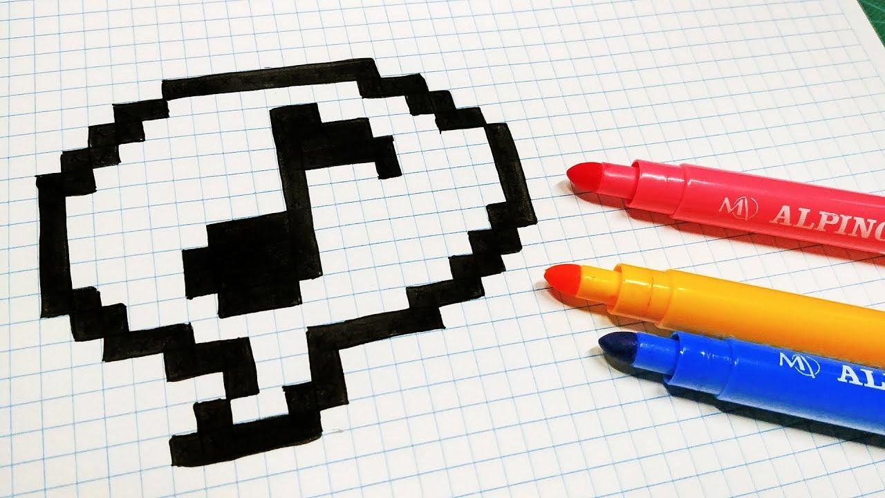 Handmade Pixel Art How To Draw Music Pixelart