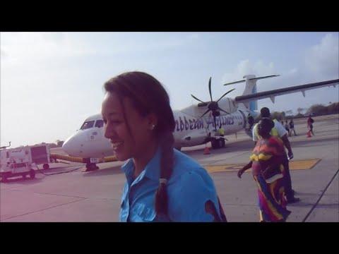 FLYING TO TOBAGO | TRAVEL VLOG
