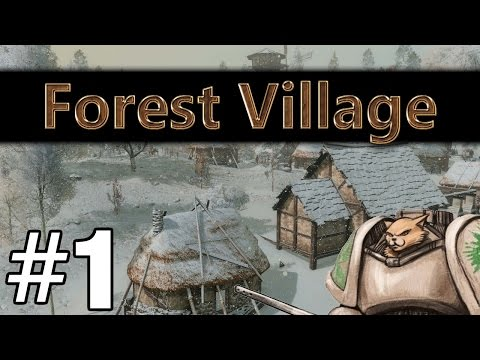 Life is Feudal Forest Village - Splattertropolis - Part 1 Let's Play Forest Village
