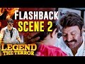 Legend The Terror - Hindi Dubbed Movie | Flashback Scene | Nandamuri Balakrishna | Radhika Apte