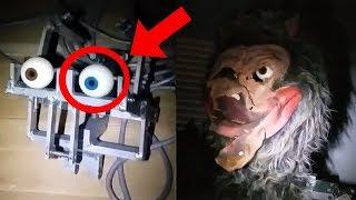 Animatronicos REALES abandonados encontrados en un sotano