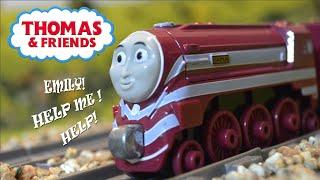 CAITLIN'S BRAKES BREAK! | BEST ENGINE EVER CLIP REMAKE | Thomas & Friends thumbnail