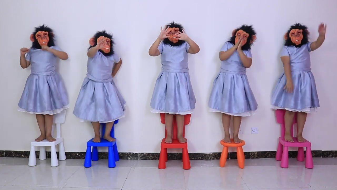 Five little monkey Song | 동요와 아이 노래 | 어린이 교육