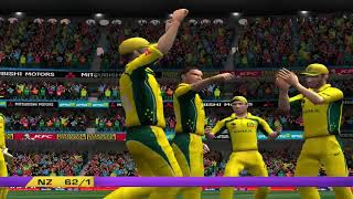 Australia vs New Zealand - 5 Overs Match 1 Part 1 - EA CRICKET 18 PC Game