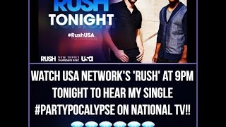 "Djoir Jordan- Partypacolypse  (USA Network series 'RUSH' episode: ""Learning to Fly"")"