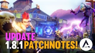 Fortnite - Mise à jour énorme (Patch 1.8.1)