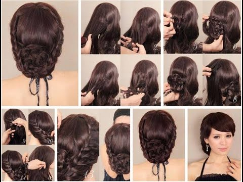 Hairstyles Step By Step 10 quick and easy hairstyles step by step Wedding Hairstyles Tutoria Wedding Hairstyles Step By Step