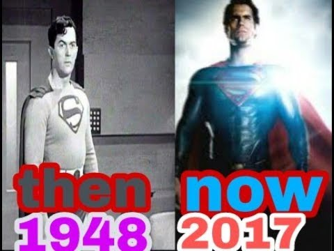 Evolution of Superman in Movies 1948-2017.