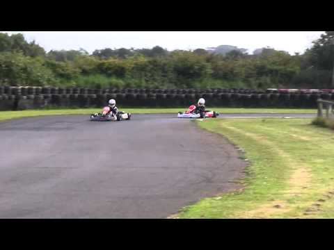 Llandow Kart Circuit - Toby and Matt