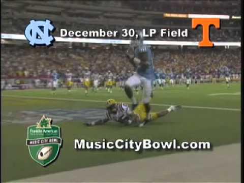 2010 Franklin American Mortgage Music City Bowl Promotion 2 - UNC vs. UT