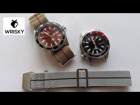 Wrisky.co Elastic Military Straps - Affordable, Comfortable And Functional