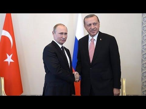 Пресс-конференция по итогам российско-турецких переговоров. Прямая трансляция