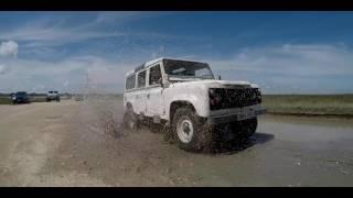 Defender 110 Weekend Adventure - Pearland Parkway Trails/San Luis Pass